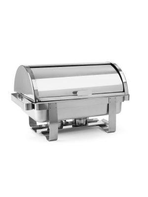 Chafing GN1/1 ROLLTOP PROFI LINE 470206. Vhodný pre pre catering, švédske stolovanie. Nerezové prevedenie vrátane 2 nádob na horákovú pastu.