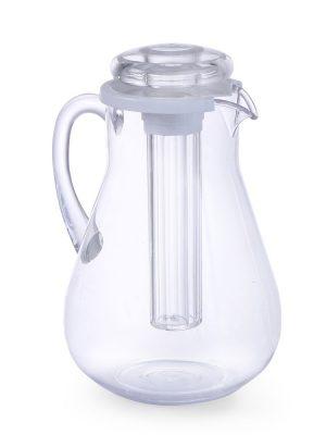 Džbán s vložkou na ľad 3L | Hendi 425121, udržiava tekutinu chladnú, a pritom tekutinu nezriedi. Vhodný na letné osviežujúce miešané nápoje.