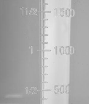 Nádoba s odmerkou 1000 ml - 2