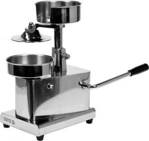 Stroj na hamburger 130 mm- 2