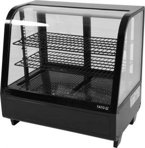 Chladiaca vitrína 100 L - čierna YG-05020 - 1