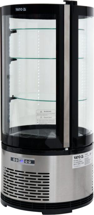 Chladiaca vitrína 100 L - čierna YG-05094 - 1