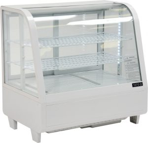 Chladiaca vitrína 100 L - biela YG-05021 - 1