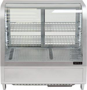 Chladiaca vitrína 100 L - strieborná YG-05022