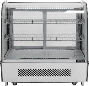 Chladiaca vitrína 120 L - strieborná YG-05025