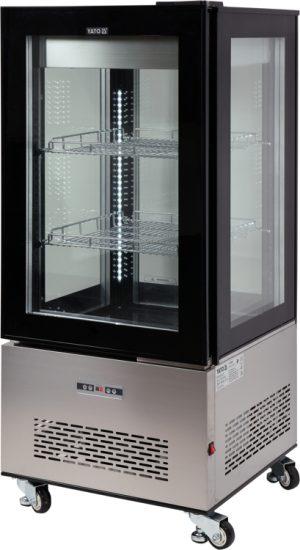 Chladiaca vitrína 270 L - čierna YG-05064 - 1