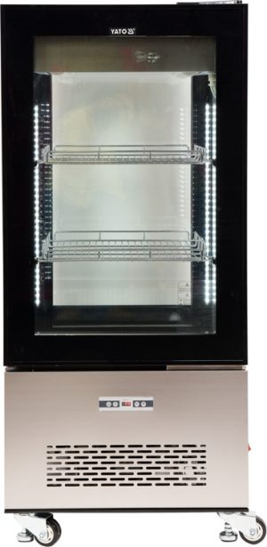 Chladiaca vitrína 270 L - čierna YG-05064