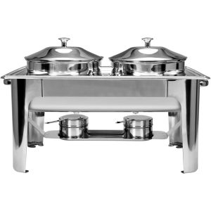 Chafing na polievku s dvoma nádobami 2x4,5 l - model- YG-04125