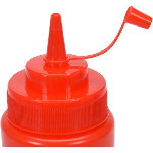Dávkovač na studené omáčky 350ml - červený - model- YG-00550 -1