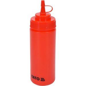 Dávkovač na studené omáčky 350ml - červený - model- YG-00550
