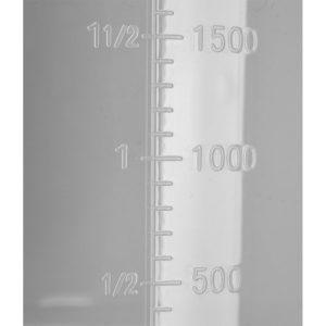 Nádoba s odmerkou 5000 ml - model- YG-07288 -1