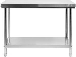 Stôl s policou 1000x600 mm YG-09001
