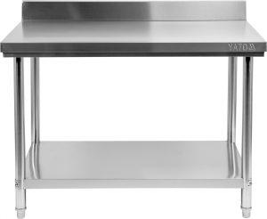 Stôl s policou 800x600 mm YG-09020