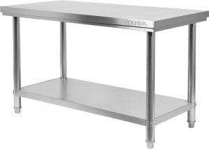 Stôl s policou 1600x600 mm YG-09005 - 1