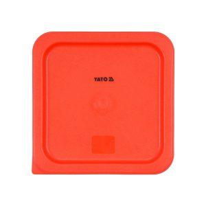 Polypropylénová červená pokrievka pre nádobu GN 23cm - model- YG-00525 -1